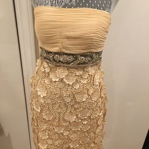 Detailed cocktail dress